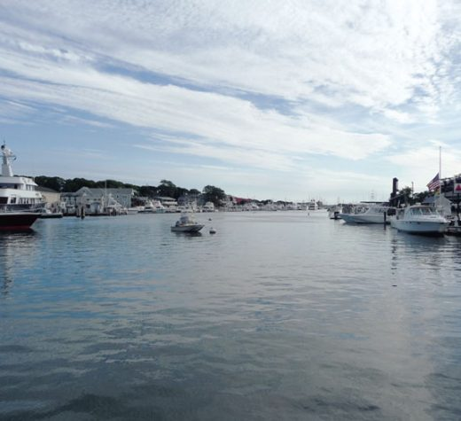 October: Falmouth, Mass. Inner Harbor