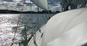 Last sail of the season for Saucy