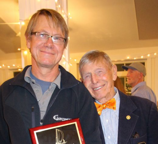 Points East Yachtsman of the Year: Richard Hallett