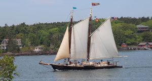Thorofare schooner sightings