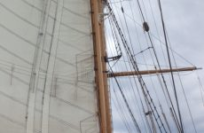 Corwith Cramer heads to sea