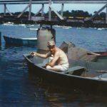 My dad's skiff