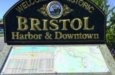 Welcome to Historic Bristol Harbor & Downtown. Photo by Kenneth C. Zirkel