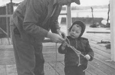 David Roper and his father. Photo courtesy David Roper