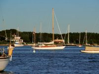 May: Sippican Harbor, Marion Mass