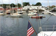 April: Camden Harbor