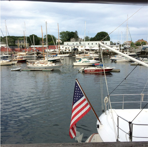 April: Camden Harbor | Points East Magazine