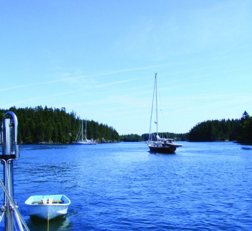 Serenity at Bunker Cove, just inside the western end of the Roque Island Thorofare.Points East file photo by Roger Long