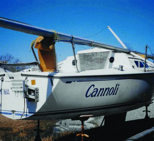 Photos by Tricia McGrathThe purchase of a Cal 22 completed the author's transition from power to sail.