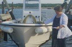 Friends of Casco Bay launches new pumpout boat