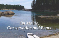 "A window into Maine's conservation movement""Sailor for the Wild: On Maine, Conservation and Boats"""