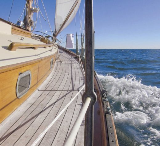Photos by Lewis WheelerDesigned by C. Raymond Hunt in 1937, the Concordia yawl is considered one of the most attractive sailing yachts ever.