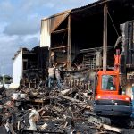 A shipyard burned, a treasure lost