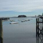 Midwinter Mystery Harbor: Camden (Maine) Harbor