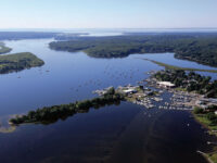 Photo courtesy marinas.comA bird's-eye view of Essex Harbor. It's amazing how different a familiar stretch of water looks from the air.