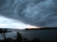 Stormy weather coming